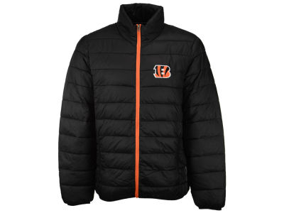 Cincinnati Bengals GIII NFL Men's Skybox Packable Quilted Jacket