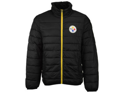 Pittsburgh Steelers G-III Sports NFL Men's Skybox Packable Quilted Jacket