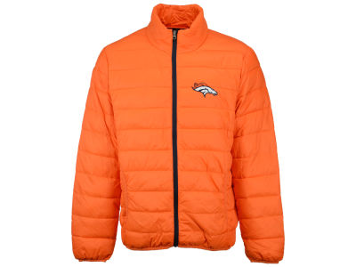 Denver Broncos G-III Sports NFL Men's Skybox Packable Quilted Jacket