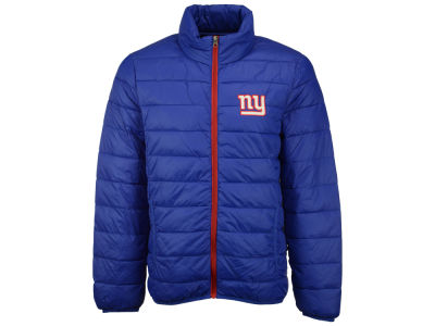 New York Giants GIII NFL Men's Skybox Packable Quilted Jacket