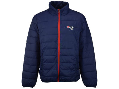 New England Patriots GIII NFL Men's Skybox Packable Quilted Jacket