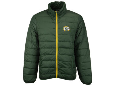 Green Bay Packers GIII NFL Men's Skybox Packable Quilted Jacket