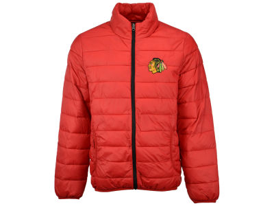 Chicago Blackhawks GIII NHL Men's Skybox Packable Quilted Jacket