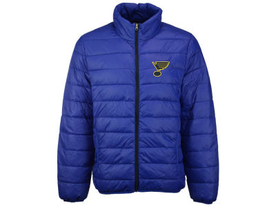 St. Louis Blues G-III Sports NHL Men's Skybox Packable Quilted Jacket