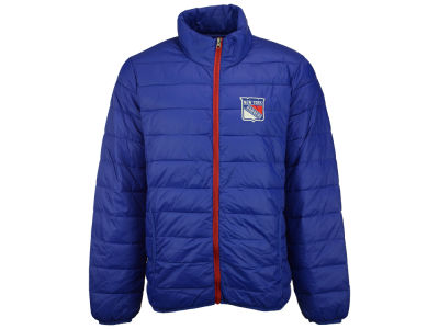 New York Rangers GIII NHL Men's Skybox Packable Quilted Jacket