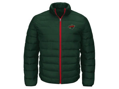 Minnesota Wild GIII NHL Men's Skybox Packable Quilted Jacket