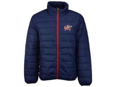 Columbus Blue Jackets GIII NHL Men's Skybox Packable Quilted Jacket