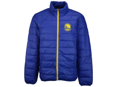 Golden State Warriors GIII NBA Men's Skybox Packable Quilted Jacket