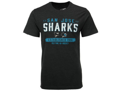San Jose Sharks Old Time Hockey NHL Men's Evolve T-Shirt
