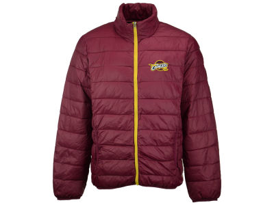 Cleveland Cavaliers GIII NBA Men's Skybox Packable Quilted Jacket