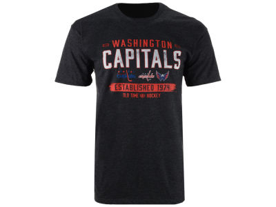Washington Capitals Old Time Hockey NHL Men's Evolve T-Shirt