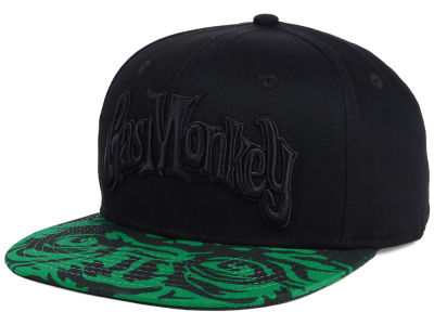 Gas Monkey Garage Monkey Eyes Snapback Cap