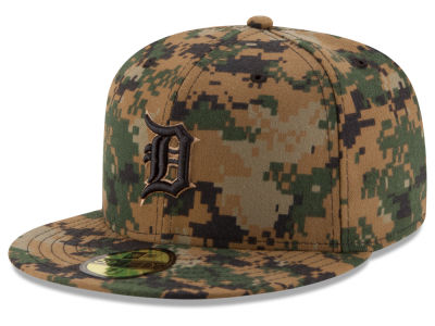 Detroit Tigers New Era MLB 2016 Memorial Day 59FIFTY Cap