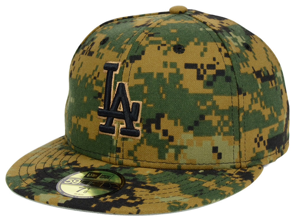 Los Angeles Dodgers New Era MLB 2016 Memorial Day 59FIFTY Cap  9c0f50a56b3