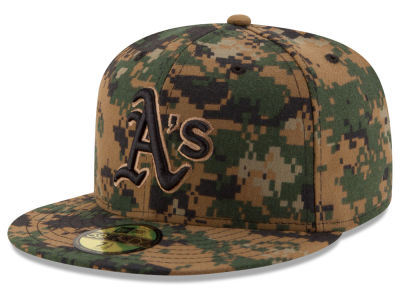 Oakland Athletics New Era MLB 2016 Memorial Day 59FIFTY Cap