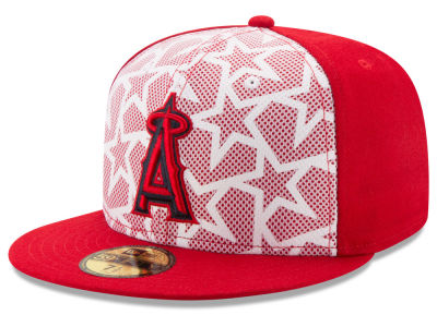 Los Angeles Angels New Era 2016 MLB AC Stars & Stripes 59FIFTY Cap