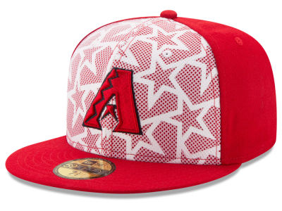 Arizona Diamondbacks New Era 2016 MLB AC Stars & Stripes 59FIFTY Cap