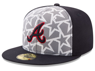 Atlanta Braves New Era 2016 MLB AC Stars & Stripes 59FIFTY Cap