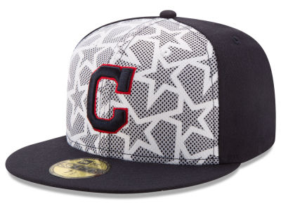 Cleveland Indians New Era 2016 MLB AC Stars & Stripes 59FIFTY Cap