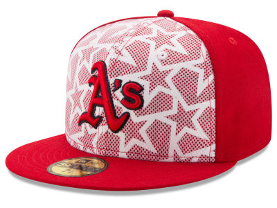 Oakland Athletics New Era 2016 MLB AC Stars & Stripes 59FIFTY Cap