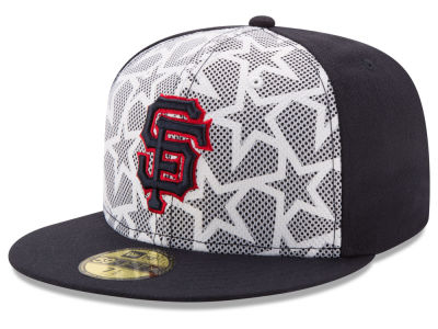 San Francisco Giants New Era 2016 MLB AC Stars & Stripes 59FIFTY Cap