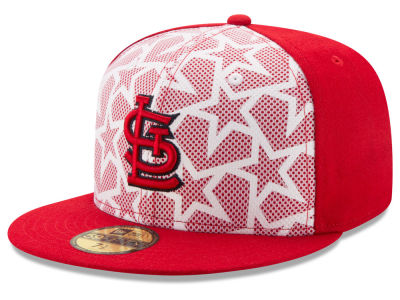 St. Louis Cardinals New Era 2016 MLB AC Stars & Stripes 59FIFTY Cap