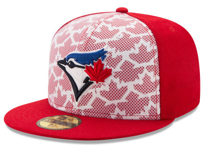 Toronto Blue Jays New Era 2016 MLB AC Stars & Stripes 59FIFTY Cap