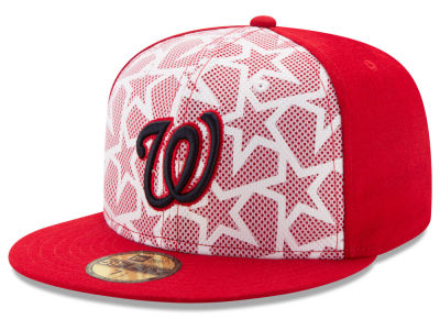 Washington Nationals New Era 2016 MLB AC Stars & Stripes 59FIFTY Cap