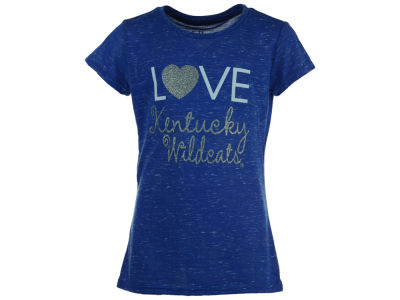 Kentucky Wildcats Blue 84 NCAA Youth Girls Confetti T-Shirt
