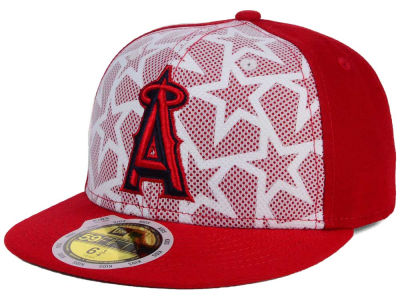 Los Angeles Angels New Era 2016 MLB Kids AC Stars & Stripes 59FIFTY Cap