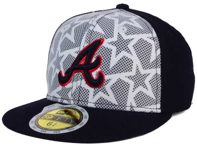 Atlanta Braves New Era 2016 MLB Kids AC Stars & Stripes 59FIFTY Cap