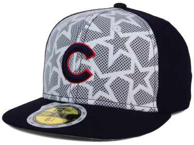 Chicago Cubs New Era 2016 MLB Kids AC Stars & Stripes 59FIFTY Cap