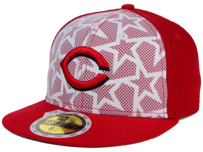 Cincinnati Reds New Era 2016 MLB Kids AC Stars & Stripes 59FIFTY Cap