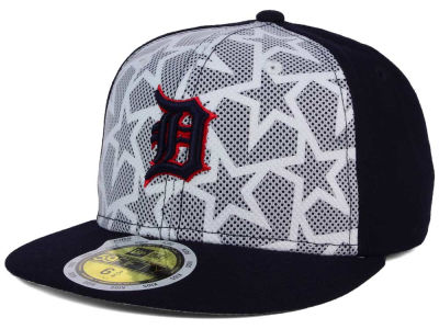 Detroit Tigers New Era 2016 MLB Kids AC Stars & Stripes 59FIFTY Cap