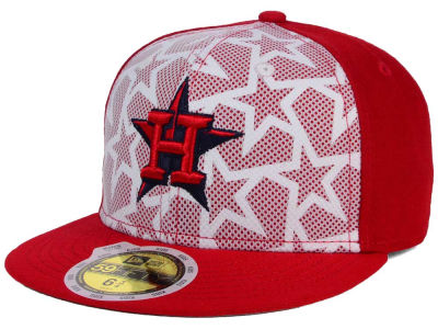 Houston Astros New Era 2016 MLB Kids AC Stars & Stripes 59FIFTY Cap