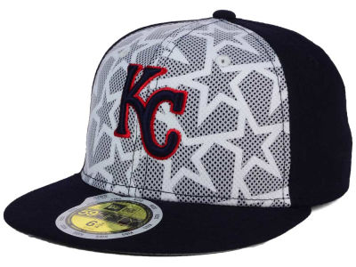 Kansas City Royals New Era 2016 MLB Kids AC Stars & Stripes 59FIFTY Cap