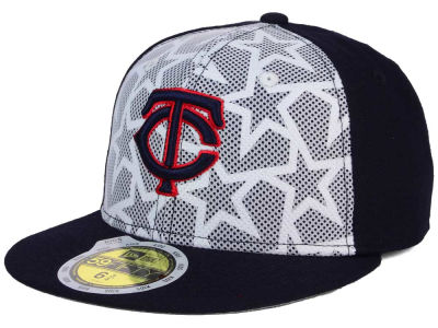 Minnesota Twins New Era 2016 MLB Kids AC Stars & Stripes 59FIFTY Cap