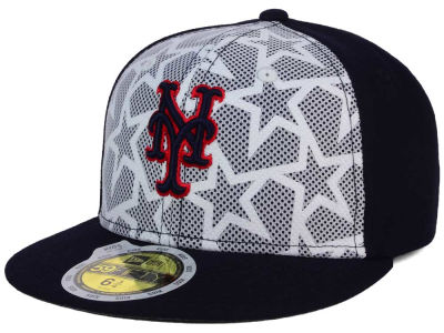 New York Mets New Era 2016 MLB Kids AC Stars & Stripes 59FIFTY Cap