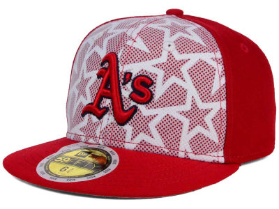 Oakland Athletics New Era 2016 MLB Kids AC Stars & Stripes 59FIFTY Cap