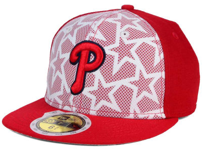 Philadelphia Phillies New Era 2016 MLB Kids AC Stars & Stripes 59FIFTY Cap