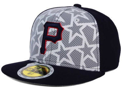 Pittsburgh Pirates New Era 2016 MLB Kids AC Stars & Stripes 59FIFTY Cap