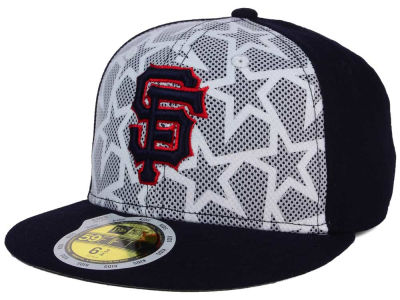 San Francisco Giants New Era 2016 MLB Kids AC Stars & Stripes 59FIFTY Cap