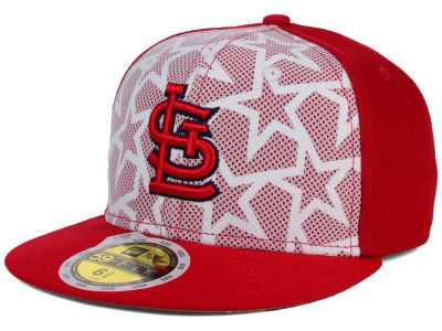 St. Louis Cardinals New Era 2016 MLB Kids AC Stars & Stripes 59FIFTY Cap
