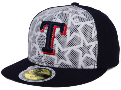 Texas Rangers New Era 2016 MLB Kids AC Stars & Stripes 59FIFTY Cap
