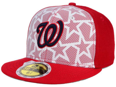 Washington Nationals New Era 2016 MLB Kids AC Stars & Stripes 59FIFTY Cap