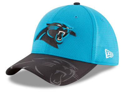 Carolina Panthers New Era 2016 Official NFL Sideline 39THIRTY Cap