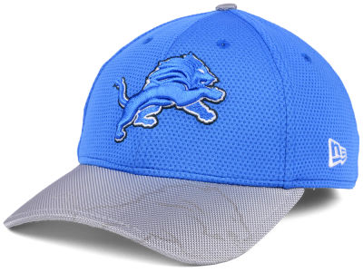 Detroit Lions New Era 2016 Official NFL Sideline 39THIRTY Cap