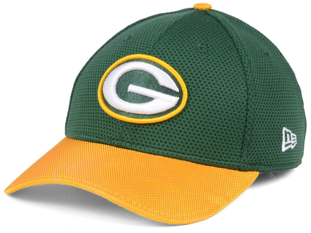 Green Bay Packers New Era 2016 Official NFL Sideline 39THIRTY Cap ... 1529e3089da