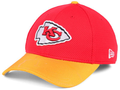 Kansas City Chiefs New Era 2016 Official NFL Sideline 39THIRTY Cap