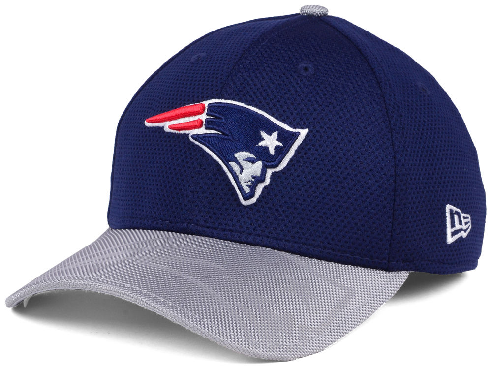 df3235b48 New England Patriots New Era 2016 Official NFL Sideline 39THIRTY Cap ...